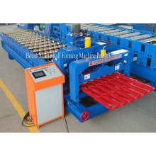 China New Product for Automatic Glazed Tile Roll Forming Machine Unique Designed Metal Glazed Tile Roll Forming Machine export to Belarus Importers