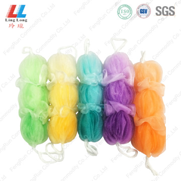 Affectionate foam bath sponge long belt