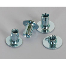 White Zinc Plating carbon steel Propeller Nuts