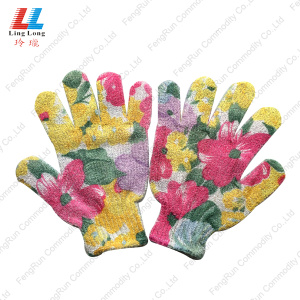 China for Animal Bath Gloves Beautiful Style Bath Washing Gloves supply to Portugal Manufacturer