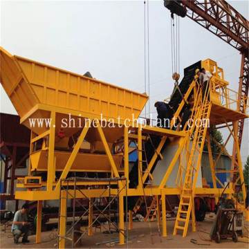 Commercial Mobile Concrete Batching Plant