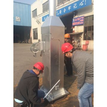 China for China Traffic Signal Mast,Traffic Signal Light,Camera Pole supplier Hinged Camera Mast export to Malta Supplier