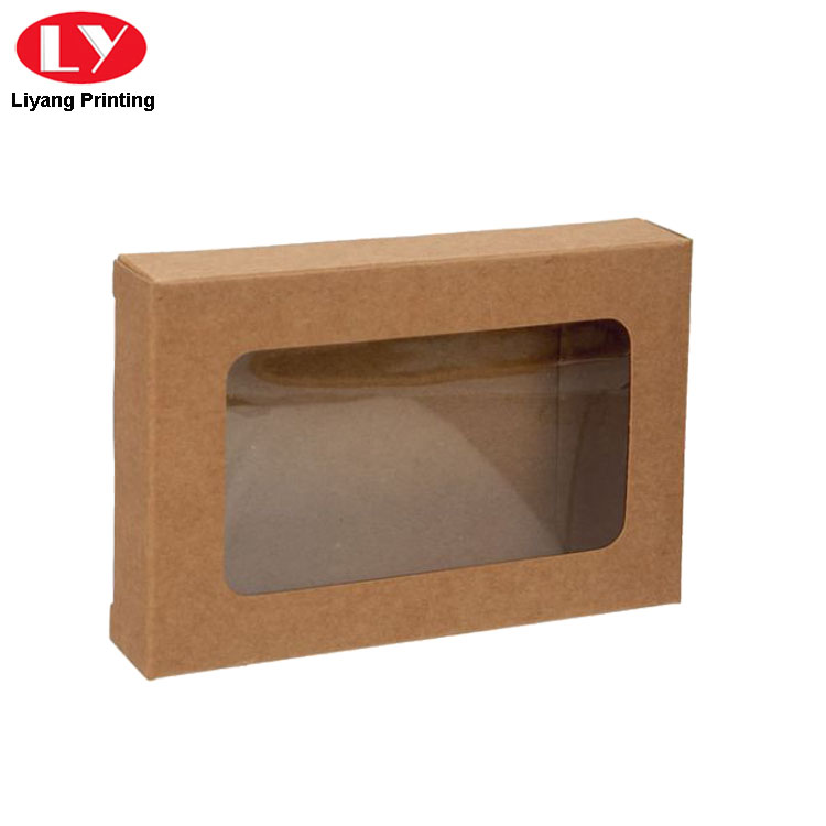 Kraft Paper Window Boxes