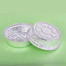 Round Wrinkle-wall Aluminum Foil Container