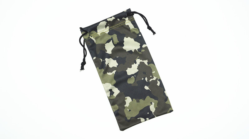 Promotional Polyester Glasses Bag Custom Soft