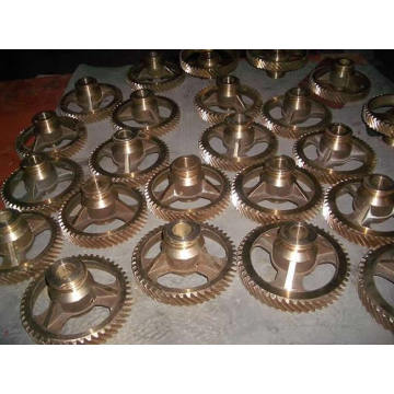 Custom-Made Copper Gear Brass Worm Gear And Worm