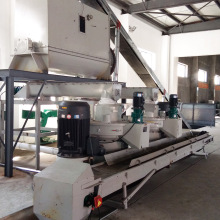 Biomass palm kernel shell pellet machine line