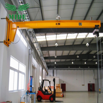 Wall Mounted Jib Crane With Wire Rope Hoist