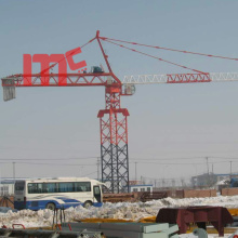 Top for Hammerhead Tower Crane 80m jib tower crane 8057 supply to Maldives Wholesale
