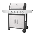 Stainless Steel Gas BBQ With Side Burner