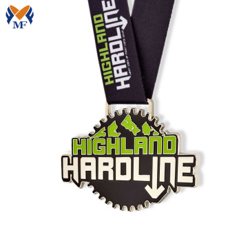 High quality design happy run race medal colors