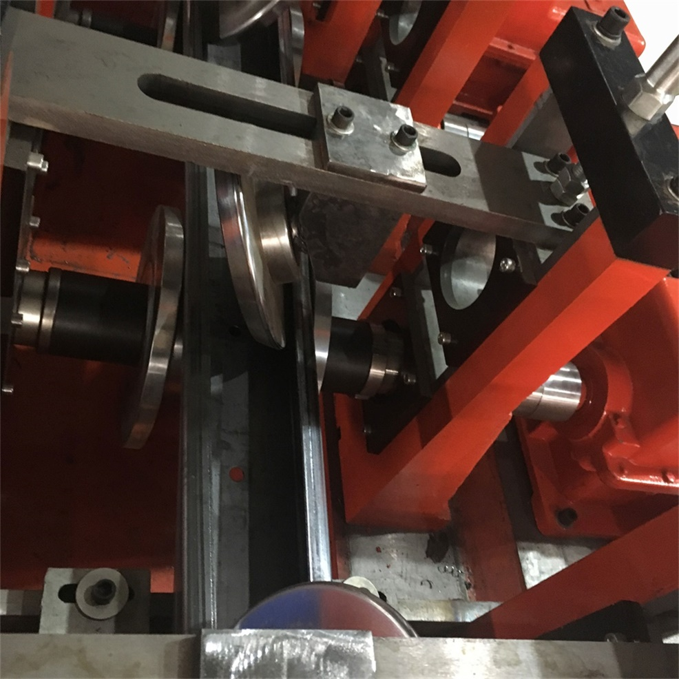 Automatic Din Rail Channel Roll Forming Machine