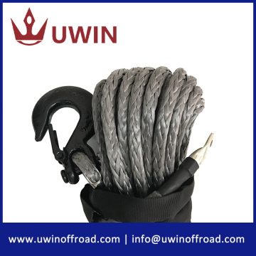 3/8'' 100' Black Color Synthetic Winch Rope
