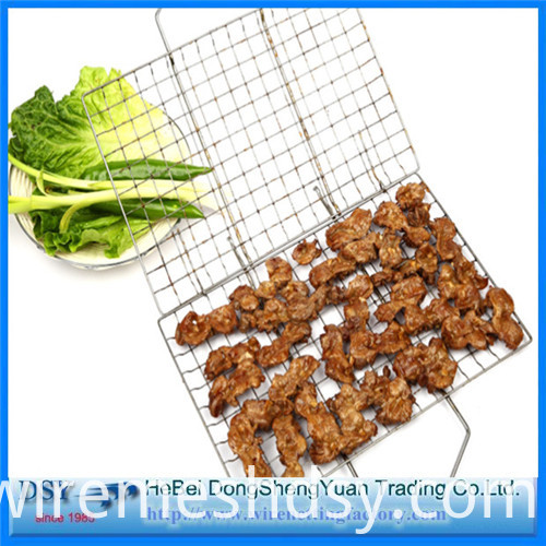 Barbecue grill wire mesh