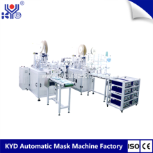 2018 New Flat face mask making machine