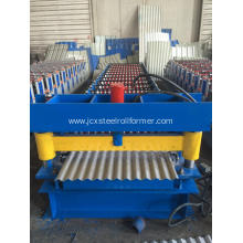 Galvanised Steel Corrugated Sheet Roll Forming Machine