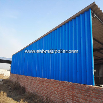 Premium Fire-rated Anti-UV Laminated MgO Corrugated Sheets