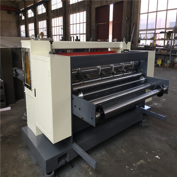 corrugated carton box paperboard cut-off machine