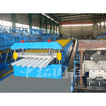 Roofing Corrugated Galvanized Sheet Making Machine