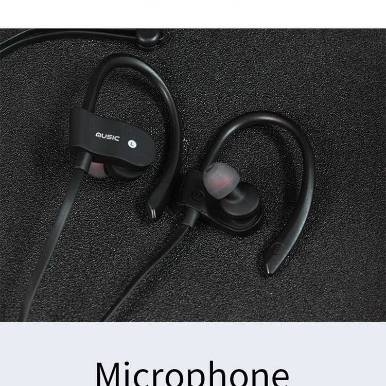 bluetooth wireless microphone headset custom sport cheap colorful earphone headphone