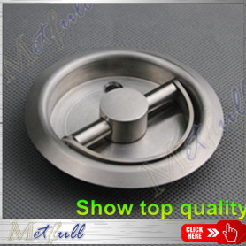 Stainless Steel Durable Round Recessed Cup Handle