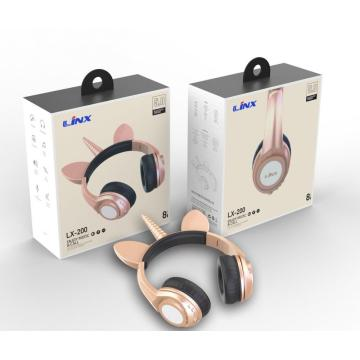 Christmas Children Headphone as New Year Gifts