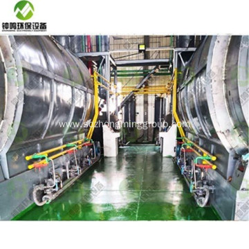 Automatic Recycling Plastic into Fule Oil Machine