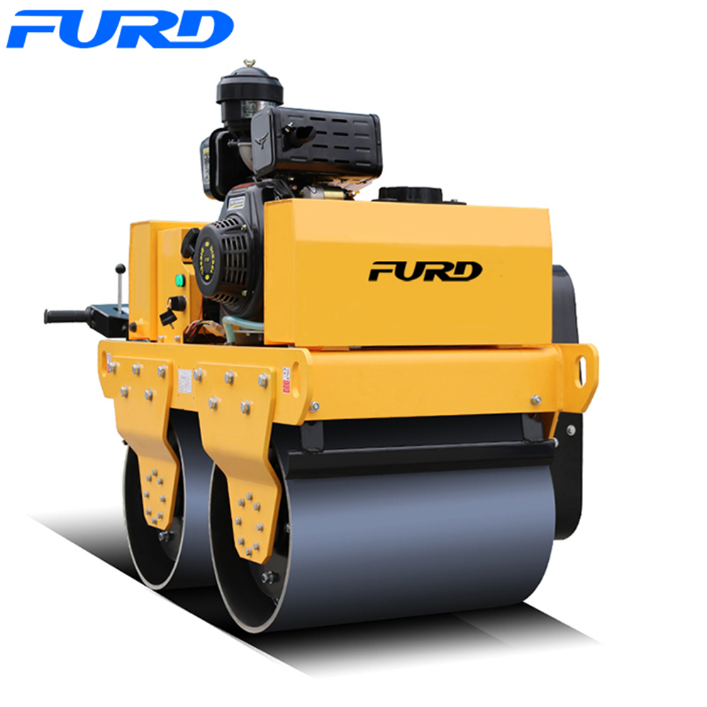 Factory Sell Soil Mini Vibratory Roller Compactor