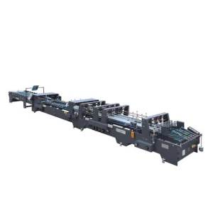 Automatic Crash Bottom Folder Gluer Machine