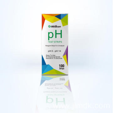 0 to 14 pH Chemical Test Strips