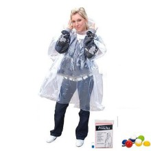 Pe Printed Customized Disposable pe Transparent rain poncho