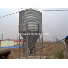 Quality for Chicken Farming Machine Feed Silo for broiler house supply to Azerbaijan Manufacturer