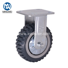 6 Inch Industrial Fixed Caster Wheels
