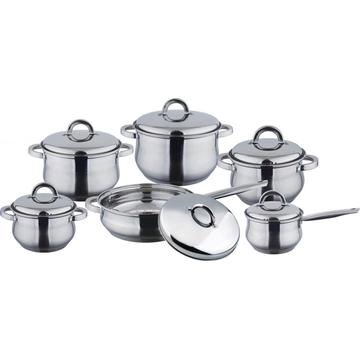 Big belly 12pcs cookware set