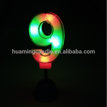 Led Number Birthday Candle