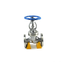 Flanged steam wcb bellow seal forged globe valve 150 dimensions