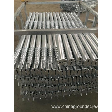 Different Flange Ground Screw