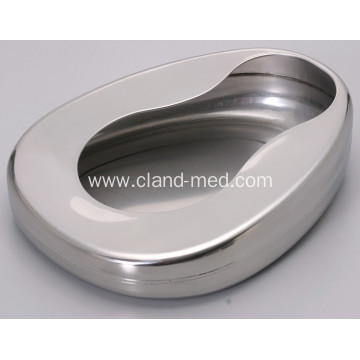 Medical Female Stainless Steel Surgical Bedpan For Patients