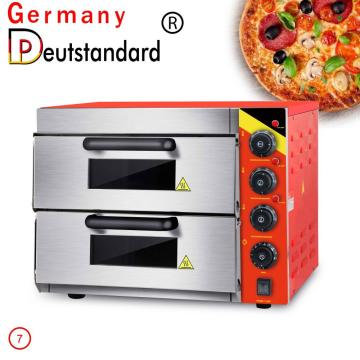 Two layer pizza oven baking oven