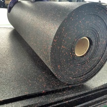 Personlized Products for Composite Rubber Flooring,Composite Rubber Mat Manufacturer in China 6 mm rubber flooring in roll for GYM export to New Caledonia Supplier
