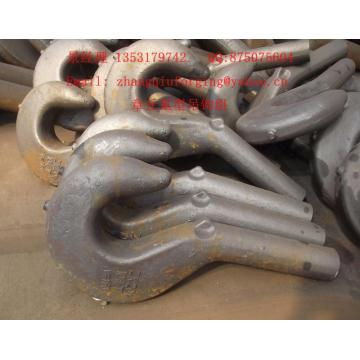 55T crane hook forgings