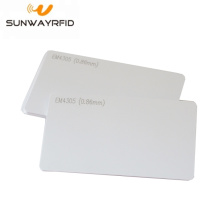 China Factories for RFID White Card Proximity EM4305 rfid Smart Cards PVC Card supply to Azerbaijan Factories
