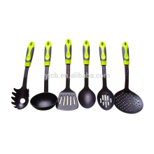 Nylon Yellow Color Handle Cooking Kitchen Tools
