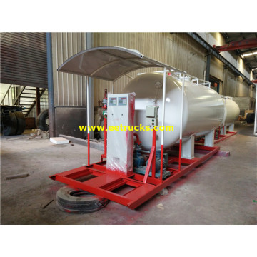 10000 Litres 5ton Propane Skid-mounted Plants