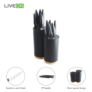 12pcs Kitchen Universal Block Knife Set