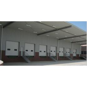Warehouse 40mm Thickness Overhead Industrial Door