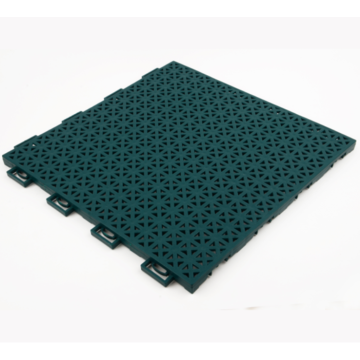 Outdoor Interlocking PP Tennis Court Floor Tile