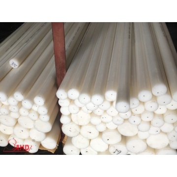 Lowest Price for Hdpe Plastic Rod White Extruded DIA 15-400mm Polyethylene HDPE Rod supply to Syrian Arab Republic Exporter