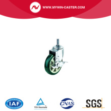 scaffolding swivel caster 200mm caster wheel