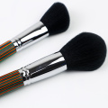 Faka umbala we-Wooden Handle Makeup Brush